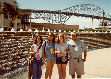 Corrine, Michelle, Simone and Myself in Corpus Christie